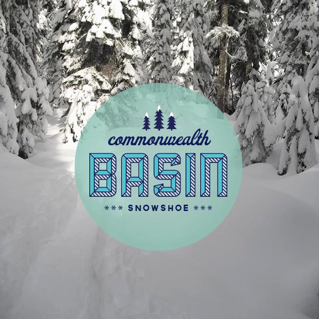 commonwealth basin snowshoe