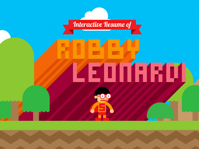 Website of Robby Leonardi