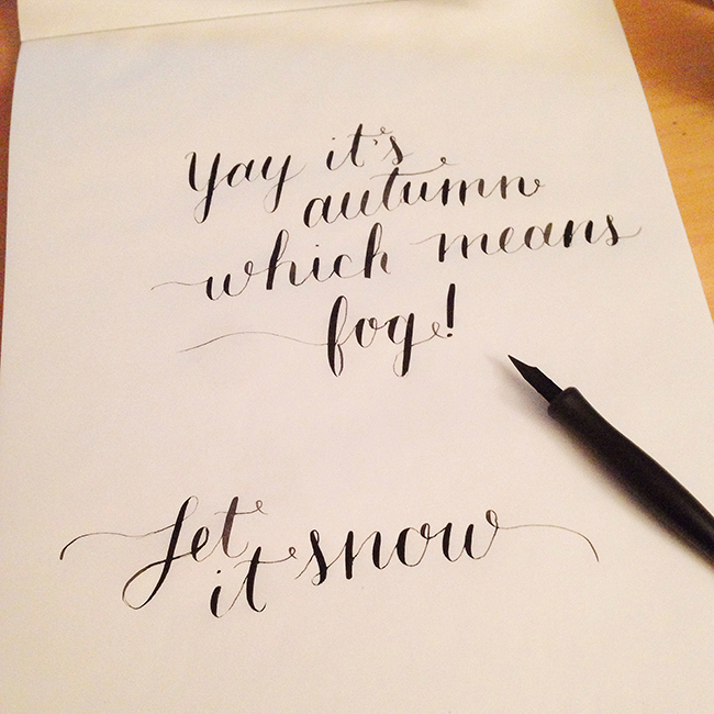'the modern art of calligraphy with molly jacques